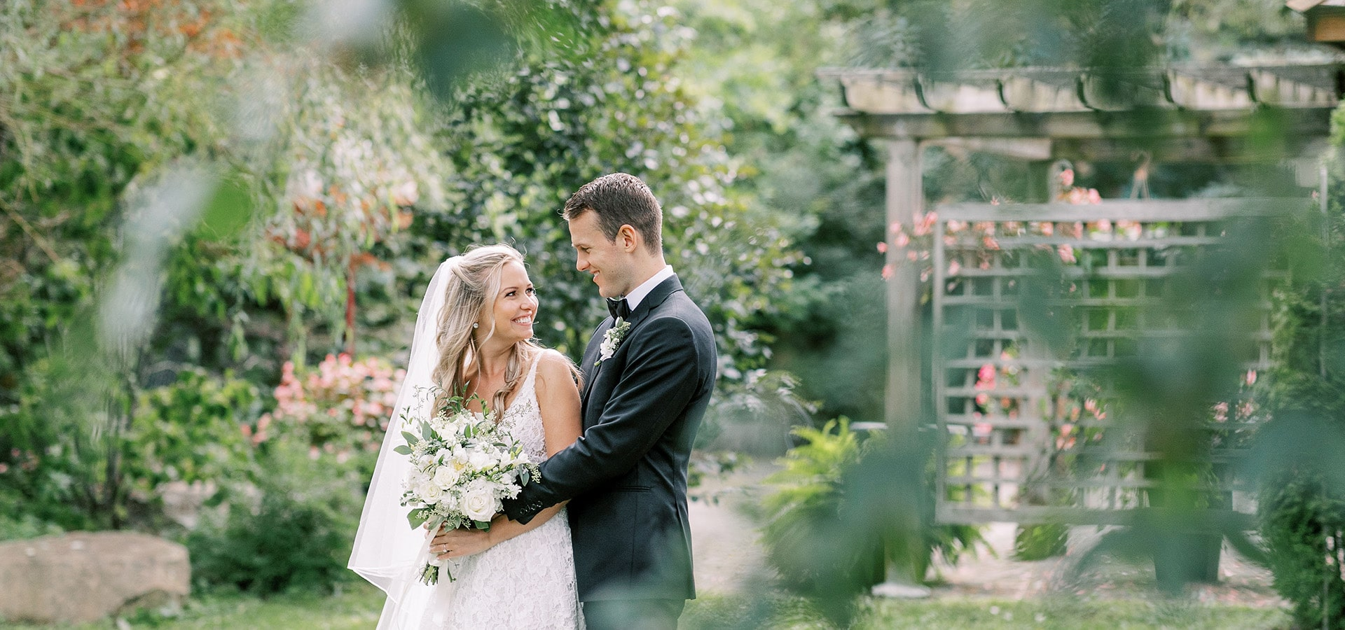 Hero image for Olivia and Colin's Breathtaking Wedding at the Picturesque Madsen's Banquet Hall